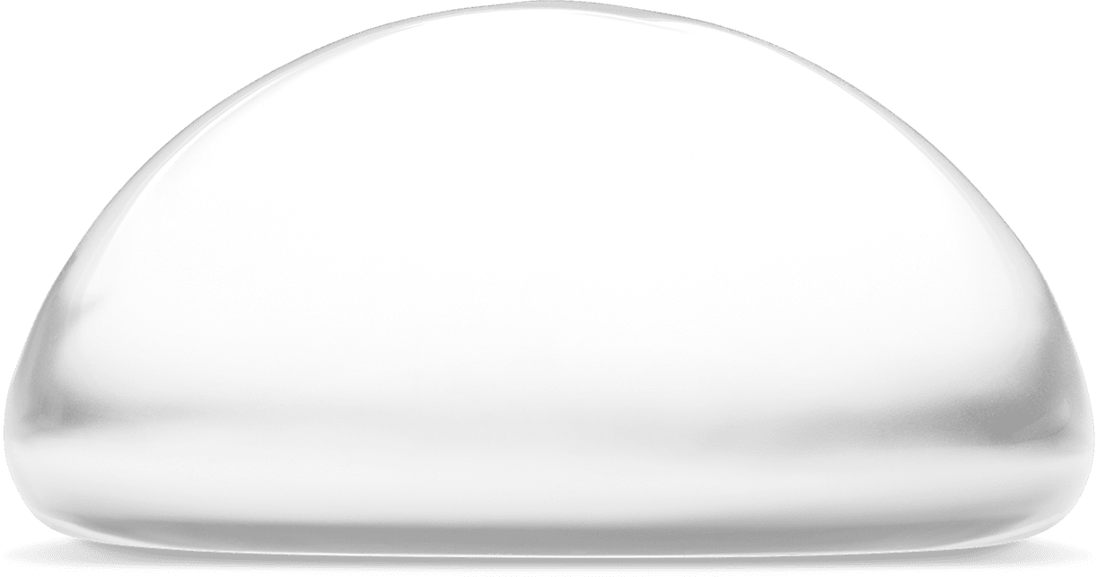 <span>NATRELLE</span><sup>&reg;</sup> INSPIRA<sup>&reg;</sup> round shaped implant side view